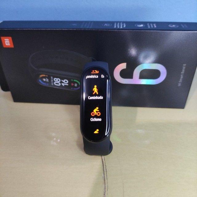 Smartband / Smartwatch Xiaomi Mi Band 6 Preto (até 8x sem juros no cartão) - Foto 2