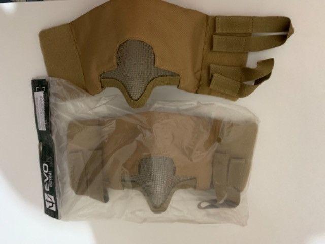 Máscara de proteção meia face telada