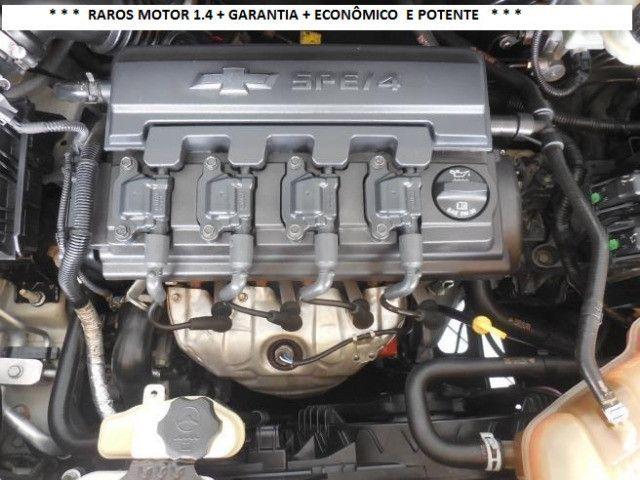 Chevrolet Onix 2013 1.4flex completo ar condicionado laudo aprovado baixa km - Foto 12