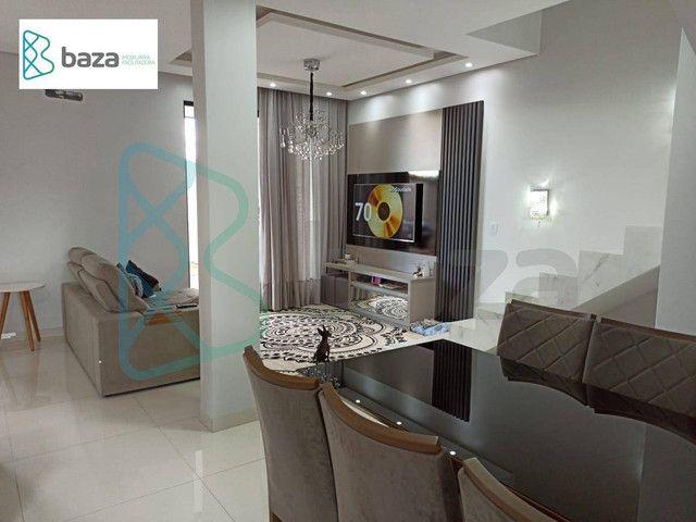Sobrado com 3 dormitórios (1 suíte) à venda, 180 m² por R$ 700.000 - Residencial Deville - - Foto 8