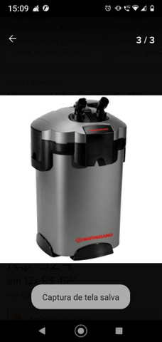 Canister Marineland Filtro