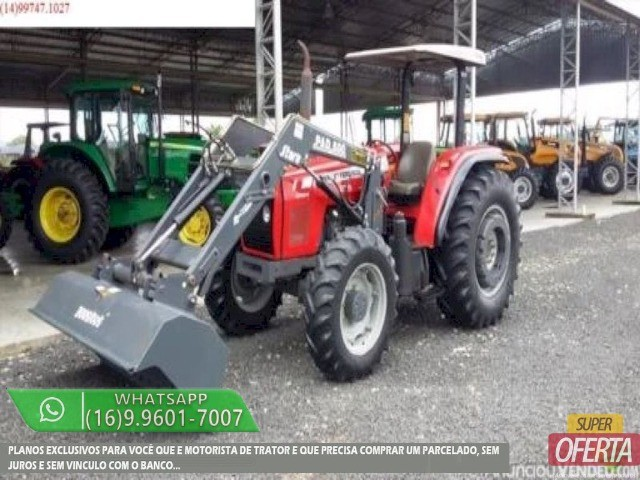 Trator Massey Ferguson 275 4x4 ano 05 - Foto 5