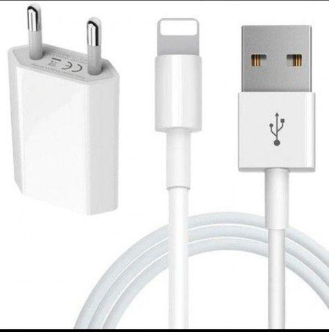 CABO E PORTA USB ORIGINAL PARA IPHONE<br><br> - Foto 2