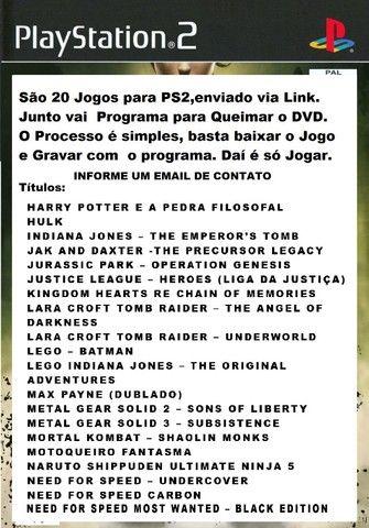 Lara Croft Tomb Raider ? Underworld Jogo Ps2 e Mais... Digital.  - Foto 2
