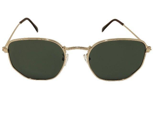 Óculos de Sol Hexagonal Novo - Foto 3