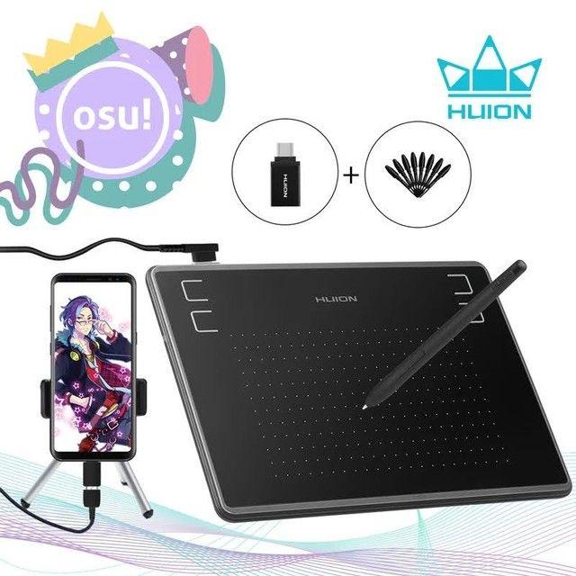 Tablet/Mesa Digitalizadora Huion Inspiroy 430p profissional NOVO - Foto 2