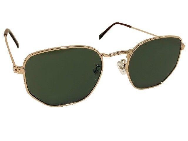 Óculos de Sol Hexagonal Novo - Foto 2