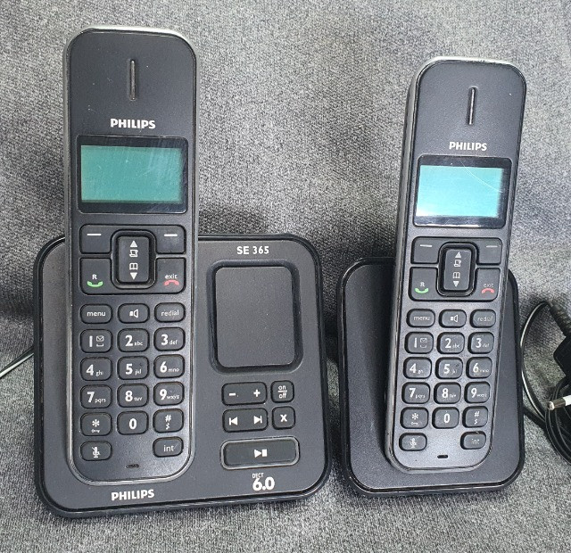 Telefone sem fio Philips com secretária eletrônica (base e+1 ramal) - Foto 3