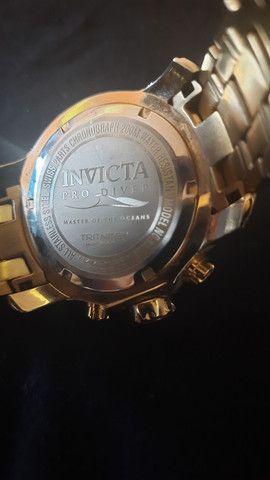 cordão e relógio invicta - Foto 3