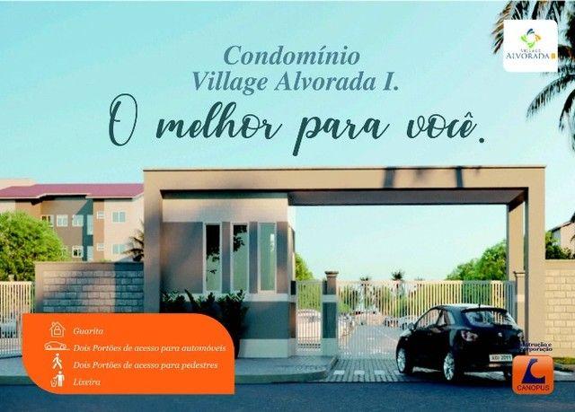 Oportunidade p/ Sair do Aluguel - Cond. Village Alvorada - Aptos c/ 2 quartos - Foto 2