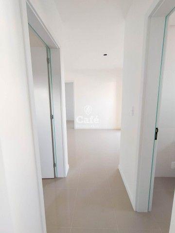 Apartamento Novo com 2 dormitórios, sacada com churrasqueira e Garagem. - Foto 14
