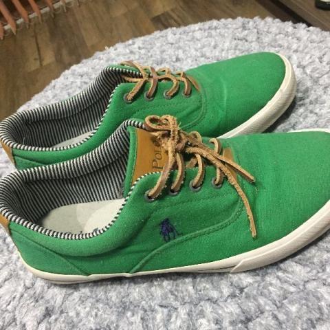Tênis Polo verde 41 usado