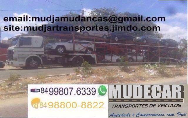 Transportes de Veículos, Motos, Jet Ski - Para todo Brasil com Seguro