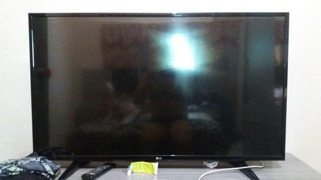 TV 43 polegares retirada de peças 300 reais