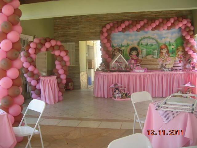 Tema Bonecas Jolie - Decoração de Aniversário Infantil - MariaFumaçaFestas (DF)