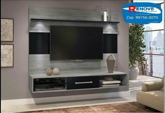 OFERTÃO!!! painel Novo pra TVs até 60p com leds+suporte grátis! - Foto 2