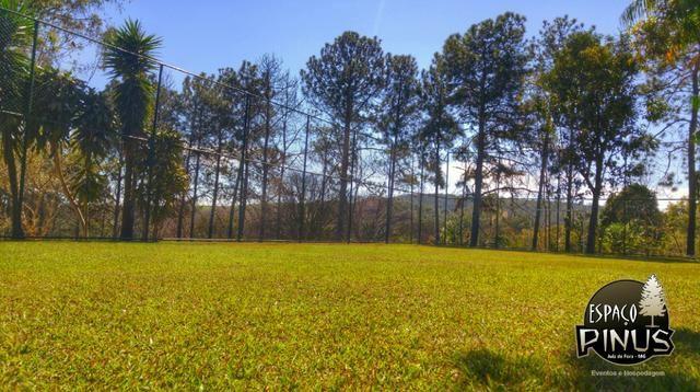 Granja para eventos e hospedagem em Juiz de Fora - Espaço Pinus - Foto 12