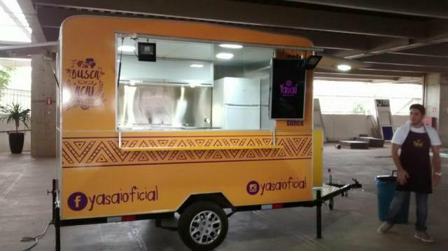 Fábrica de food Truck e quiosque em aparecida de goiania