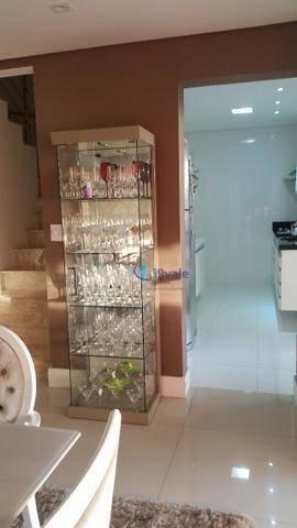 Casa com 4 dormitórios à venda, 132 m² por r$ 730.000 - loteamento villa branca - jacareí/