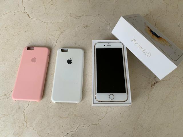 IPhone 6S 64Gb Dourado + Duas capas Originais