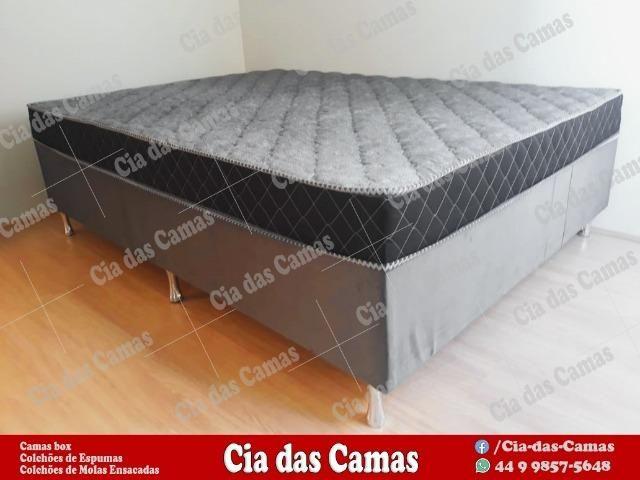 Cama box Casal ( Com Nota Fiscal) - Foto 2