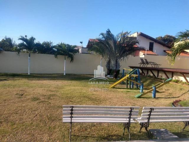 Casa plana na lagoa redonda,próximo a maestro lisboa,117 m2,3 quartos,lazer - Foto 6