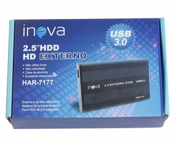"""Case para Hd de Notebook 2,5"""" Sata USB 3.0 - Foto 2"""
