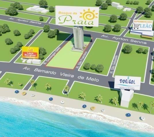 (L)Apartamento 2 Quartos 1 Suíte 1 vaga 52,65m² lazer próximo da praia Em Piedade - Foto 12