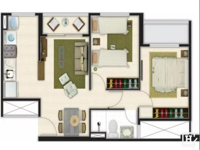 Apartamento à venda - negocie com o dono! - cond. lagoa jóquei ville - Foto 8