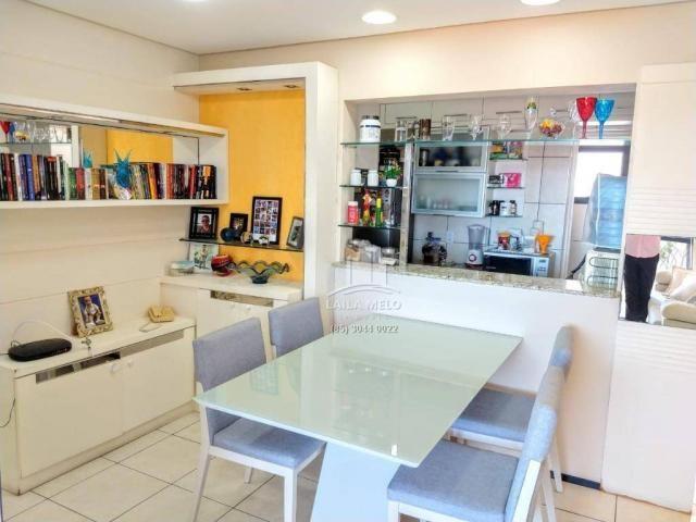 Apartamento projetado,60 m2,3 quartos, 2 vagas,edson queiroz - Foto 9