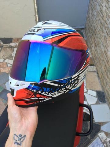 Vendo capacete helt New Race topppp - Foto 5