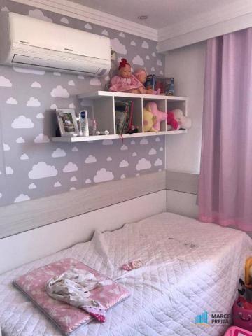 Apartamento com 2 dormitórios à venda, 54 m² por r$ 290.000,00 - jacarecanga - fortaleza/c - Foto 12