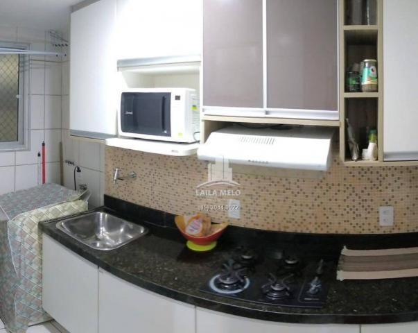 Apartamento com 3 dormitórios à venda, 53 m² próximo ao mega atacadista- cambeba - fortale - Foto 7