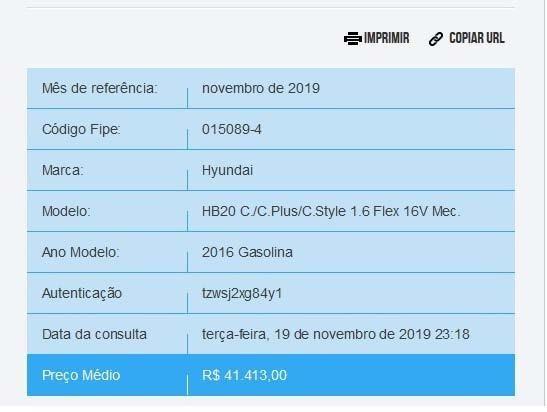 Hyundai HB20 2016 1.6 Comfort Plus 16v 4p Manual Flex Bancos em Couro Mono-Color - Foto 17