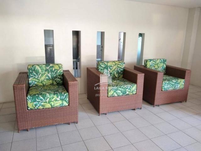 Apartamento com 3 dormitórios à venda, 53 m² próximo ao mega atacadista- cambeba - fortale - Foto 15