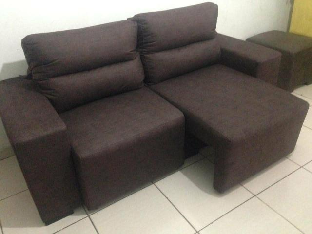 Sofa retrátil e reclinável - Foto 2
