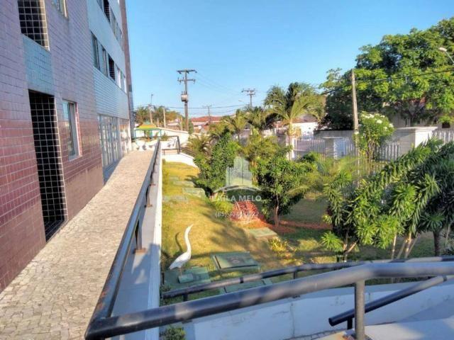 Apartamento com 3 dormitórios à venda, 53 m² próximo ao mega atacadista- cambeba - fortale - Foto 17