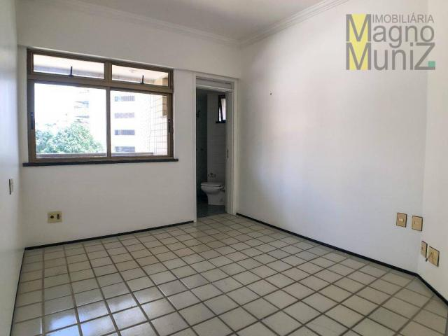 Apartamento com 4 suítes para alugar, 300 m² por r$ 2.500/ano - meireles - fortaleza/ce - Foto 11