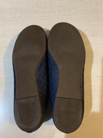 Sapatilha jeans Arezzo TAM 37 - Foto 2