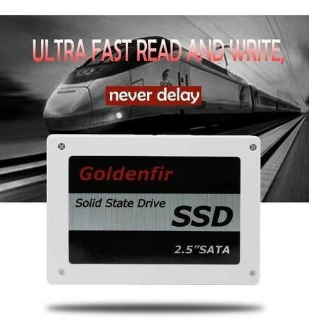 SSD Goldenfir 240GB Sata 3 Novo, Lacardo, Pronta Entrega