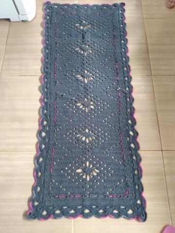 Passadeiras de crochê, grande, preços que variam de 80,00 a 100,00 - Foto 5