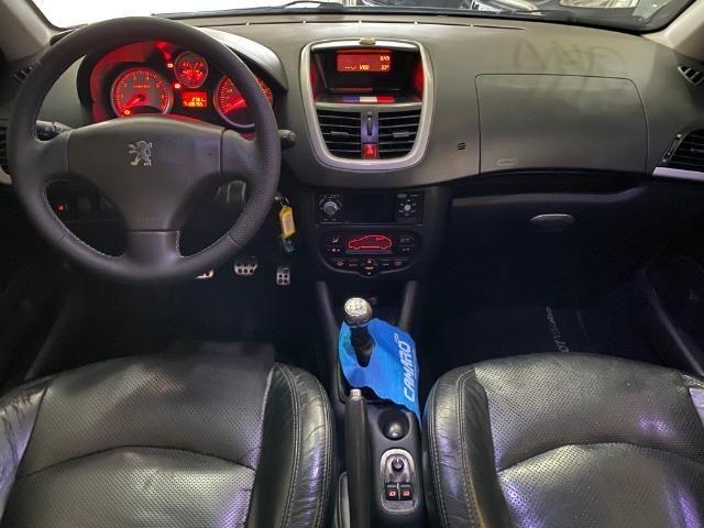 Peugeot 207 Sw Escapade Completo + Couro + Gnv, muito novo 2010 - Foto 8