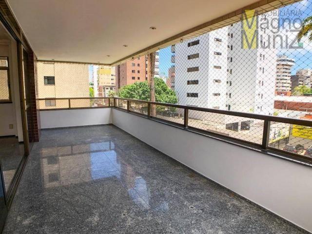 Apartamento com 4 suítes para alugar, 300 m² por r$ 2.500/ano - meireles - fortaleza/ce - Foto 5