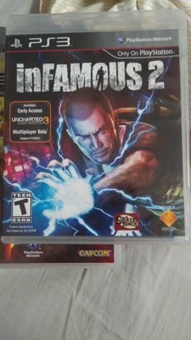 Jogo PS3 infamous 2