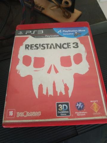 Troco Resistance 3 pra ps3
