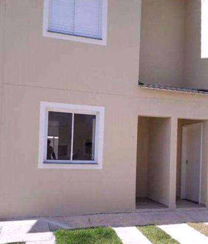Casa nova com 2 dormitórios à venda, 60 m² por r$ 170.000 - jardim colônia - jacareí/sp