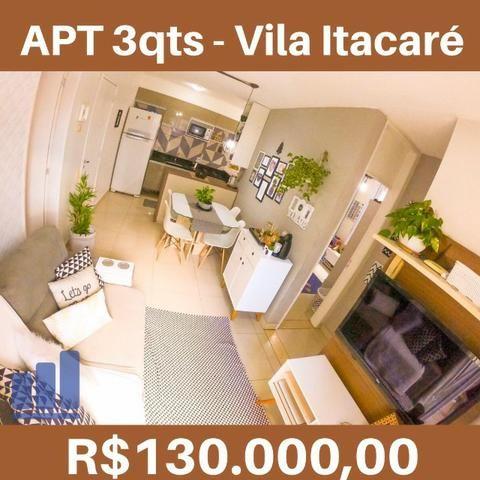 MR- Apartamento 3Q no Vila Itacaré no Rossi na Praia da Baleia