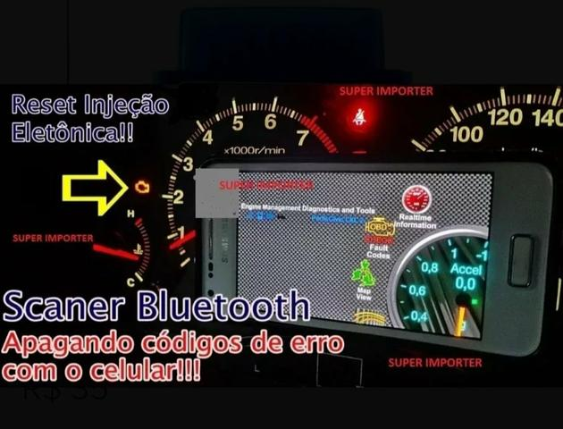 Scanner automotivo bluetooth - Foto 3