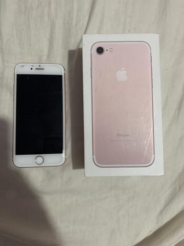 Vendo IPhone 7 de 128 gb rose