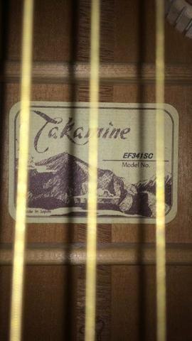Violão Takamine EF 341 Japonês - Foto 3